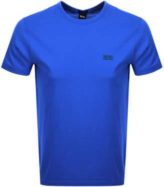 HUGO BOSS Crew Neck T Shirt Blue
