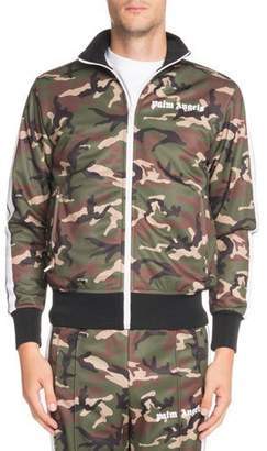 Palm Angels Camouflage-Print Classic Track Jacket