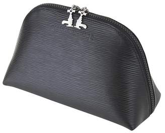 Czech & Speake Soft Black Leather Pouch