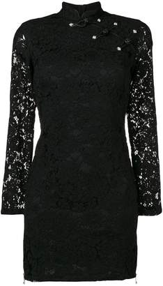 John Richmond fitted lace dress