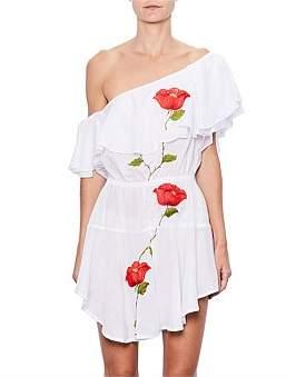 MLM One Shoulder Ruffle Dress