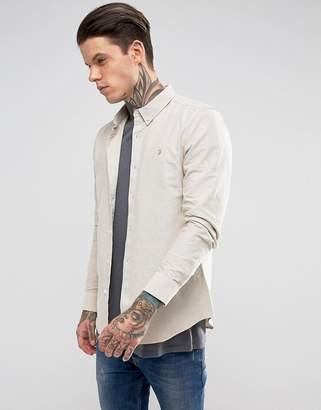 Farah Long Sleeve Slim Shirt