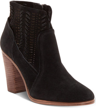 Vince Camuto Fenyia Woven Ankle Booties Women's Shoes $149 thestylecure.com