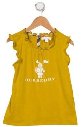 Burberry Girls' Printed Sleeveless Top