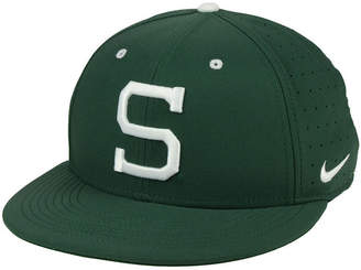 Nike Michigan State Spartans Aerobill True Fitted Baseball Cap