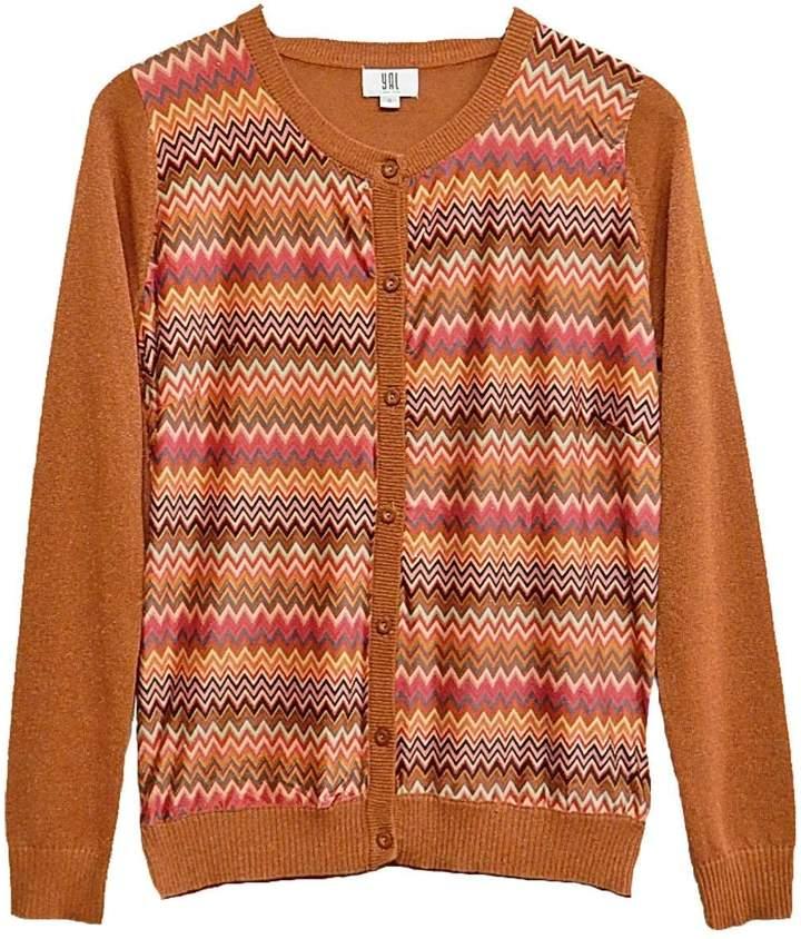 Yal NY Gold Multi Sweater