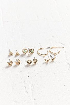 Urban Outfitters Raven Post Earring Set $24 thestylecure.com