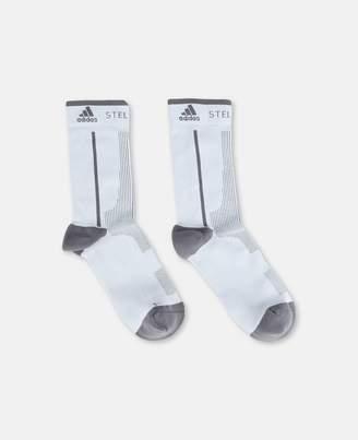Stella McCartney Gray Crew Socks, Women's