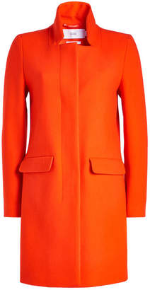 Closed Pori Coat with Virgin Wool and Cashmere