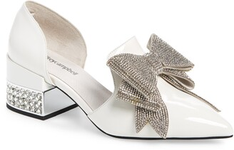 Jeffrey Campbell Valenti Embellished Bow Loafer