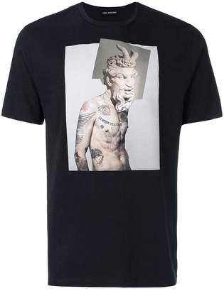 Neil Barrett photographic print T-shirt