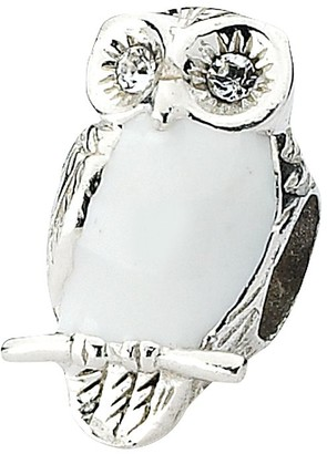 Prerogatives Prerogative Sterling Polished Owl Bead