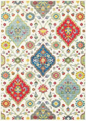 "Jhb Design Closeout! Jhb Design Vibe Persian Garden 1'10"" x 3' Area Rug"