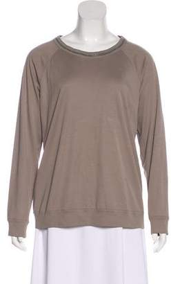 Brunello Cucinelli Monili-Trimmed T-shirt