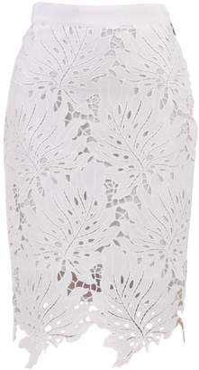 MSGM Midi Macrame Skirt