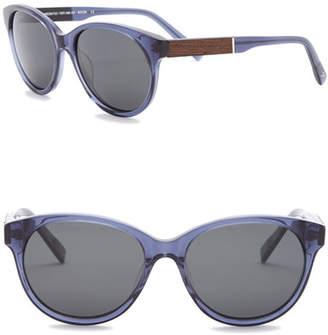 Shwood Women's Madison Polarized 54mm Retro Sunglasses