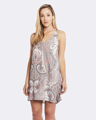 Deshabille Harmony Dress Grey / Pink