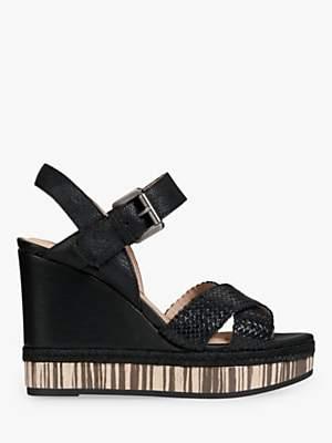 dff73babf2d1 Geox Women s Yulimar Wedge Heeled Sandals