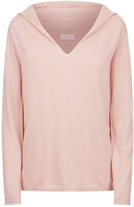 Escada Sport Hooded Wool Sweater