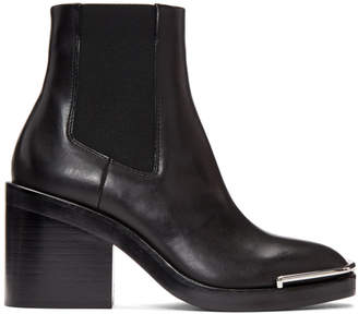 Alexander Wang Black Halley Chelsea Boots