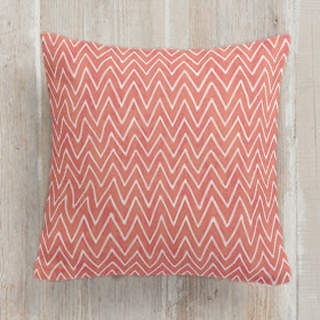 Watercolor Chevron Square Pillow