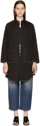 Maison Margiela Black Oversized Coat