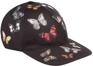 Dolce & Gabbana Butterfly Print Baseball Cap