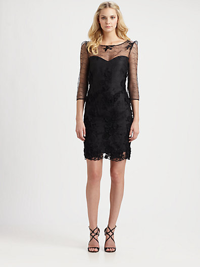 ABS by Allen Schwartz Lace Dress