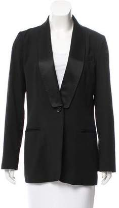 See by Chloe Wool-Blend Fitted Blazer