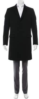 Dolce & Gabbana Wool-Cashmere Notch-Lapel Overcoat