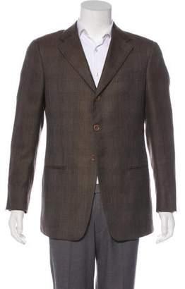 Armani Collezioni Cashmere & Silk Blazer
