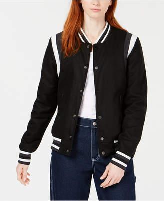 Reason Black Varsity Jacket