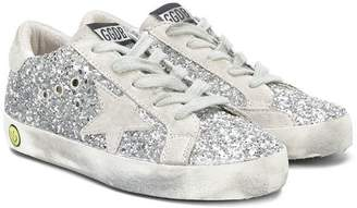 Golden Goose Kids glitter classic sneakers