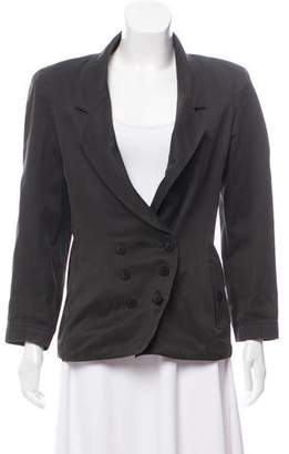 Alaia Structured Notch-Lapel Jacket