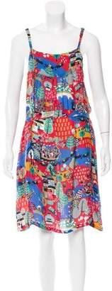 Clements Ribeiro Silk Printed Dress