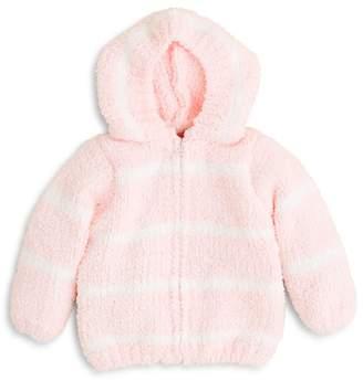 Angel Dear Girls' Stripe Hooded Jacket - Baby
