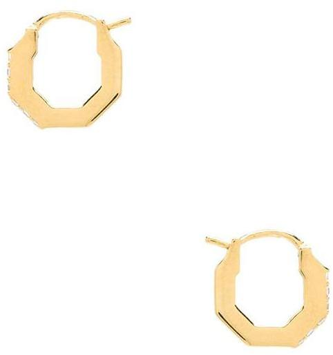Elizabeth and James Small Victoria Hoop Earring