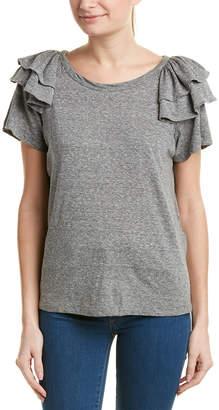 Current/Elliott The Double Ruffle T-Shirt