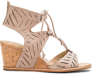 Dolce Vita Langly Wedge in Taupe $140 thestylecure.com