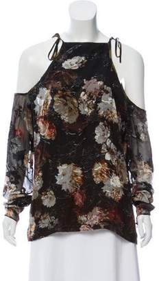 Preen by Thornton Bregazzi Floral Burnout Top