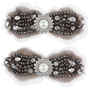 Juicy Couture Sequin Stone Hair Clips - Set of 2