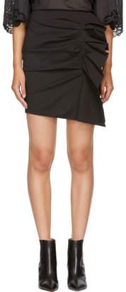 Isabel Marant Black Nefly Miniskirt