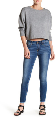 Articles of Society Carly Fray Hem Skinny Jean $64 thestylecure.com