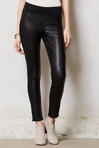 Anthropologie Paige Vegan Leather Leggings