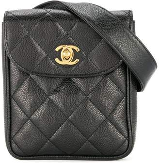 bdaa1bd00f9a77 Chanel Pre-Owned quilted waist bum bag