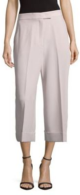 Solid Four-Pocket Style Culottes $89 thestylecure.com