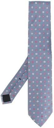 Gucci flower pattern tie