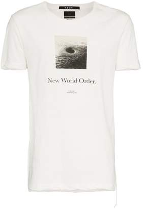 Ksubi New Order graphic print T-shirt