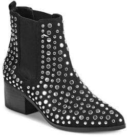 Lord & Taylor Design Lab Studded Slip-On Booties