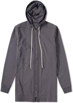 Rick Owens Drawstring Zip Through Hoody